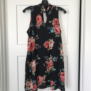 KLd Floral Print Tunic